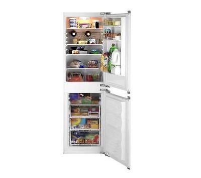 Beko Integrated Combi Frost Free Fridge Freezer, 50/50 White