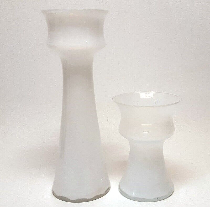 Glas, Vase / løgglas / hyacintglas, Holmegaard