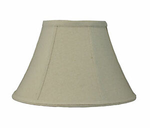 Urbanest softback bell lamp shade7x14x9natural linen fabric image is loading urbanest softback bell lamp shade 7 034 x14 aloadofball Choice Image