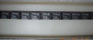 IC TDA2003 10W Car radio audio amplifier, 2 Stück NOS,  Telefunken