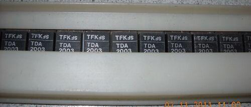 IC TDA2003 10W Car radio audio amplifier 2 Stück NOS Telefunken