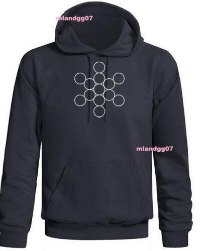 Le fruit de vie Symbole Sweat-Shirt Sacred Geometry Sweat à Capuche Sz S-3XL