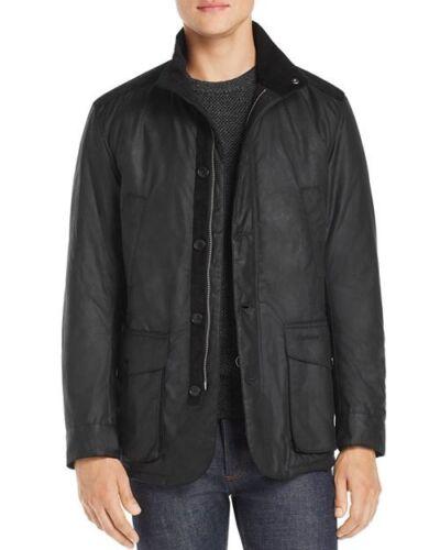 Black Mwx1408bk71 Wax Cotton Zip Jacket Men's Full Kyle Barbour RAq51wnBv