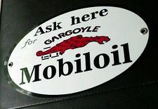 Mobil oil gargoyle sign .. gas gasoline