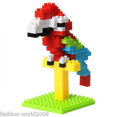 Nano Block Building Blocks Sets Mini Blocks Toys Gift Series New - Parrot