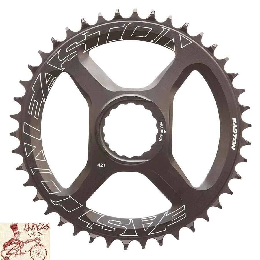 EASTON NARROW-WIDE 46T 10 11-SPEED schwarz DIRECT MOUNT BICYCLE CHAINRING