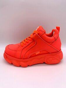 watch 86949 a975b Details zu Buffalo Boots Shoes Sneaker Plateau Schuhe 90er NEON Rot