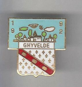 RARE-PINS-PIN-039-S-TOURISME-BLASON-ARM-COQUILLAGE-SHELL-OR-GHYVELDE-59-BB