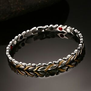 Healthy-Magnetic-Women-s-Bracelet-Far-Infrared-Negative-Ion-Therapy-Bangle-Chain