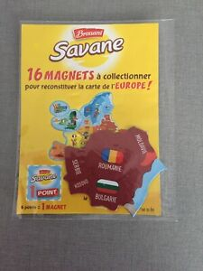 Carte Europe Brossard.Details Sur Magnet Savane De Brossard Collection Europe Bulgarie Sous Blister