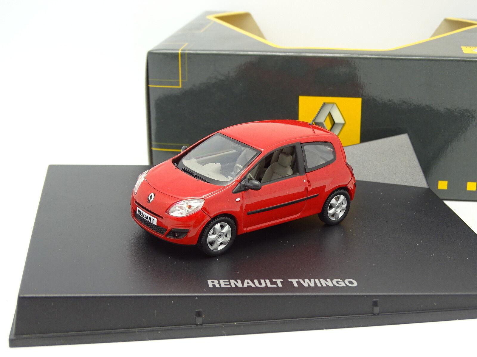 Renault Boutique 1 43 - Renault Twingo 2014 rot