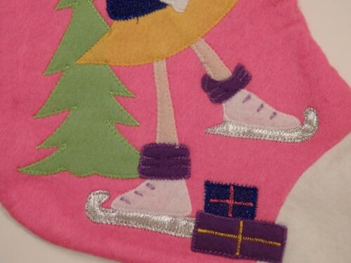 Choice of 4 3D Snowman or 3D Santa Spoiled Christmas Stocking Princess