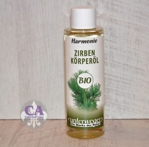 #10795 Bio Zirbenöl Körperöl Harmonie Massageöl 150 ml Naturkosmetik Österreich