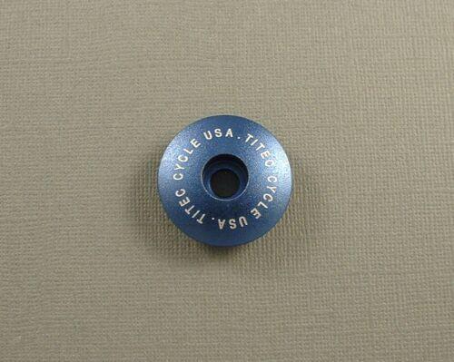 TITEC AHEADSET CAP nouveau Bleu Vélo Casque partie
