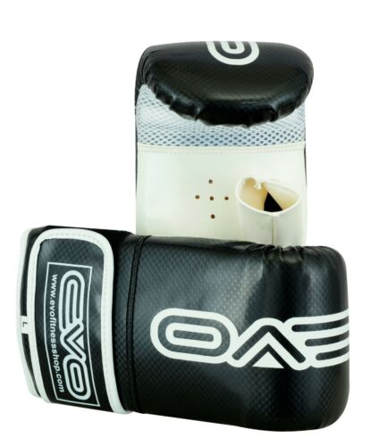 EVO Fitness Boxing MMA Focus Pads Muay Thai Martial Arts Training Pad Bag Gloves