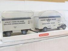 Wiking Mercedes L 2500 Möbel Hängerzug Ltd. 1500 Stück Ch. Winkler OVP (D5512)