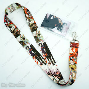 Anime-Tokyo-Ghoul-Lanyard-neck-strap-ID-Badge-Key-Holder-Neck-Chains-Card-Hot