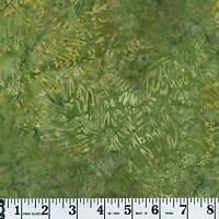 Timeless Treasures Tonga Batik B7050 Moss Priced Per 1/2 Yard