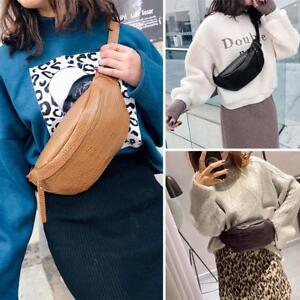 Women Alligator Pattern Hobos Bag Waist Fanny Pack Belt Bag Pouch ... 892f0922126a4