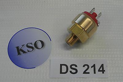 """Mini Druckschalter 1/8"""" Schließer & Öffner Pneumatik Wasser Druckluft 1 - 10 bar"""