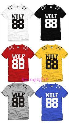 EXO WOLF GROWL EXO-M EXO-K Luhan kris sehun T-shirt KPOP GOODS