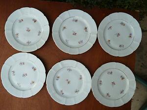 Lote-de-6-platos-de-ceramica-con-decoracion-flor-y-bano-de-oro