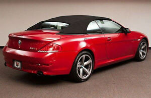BMW Series Black Stayfast Convertible Top Ci I M - 2005 bmw 645ci convertible price