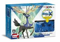 Nintendo 3ds Ll Console Pokemon X Pack Xerneas Yveltal Bluejapan Import
