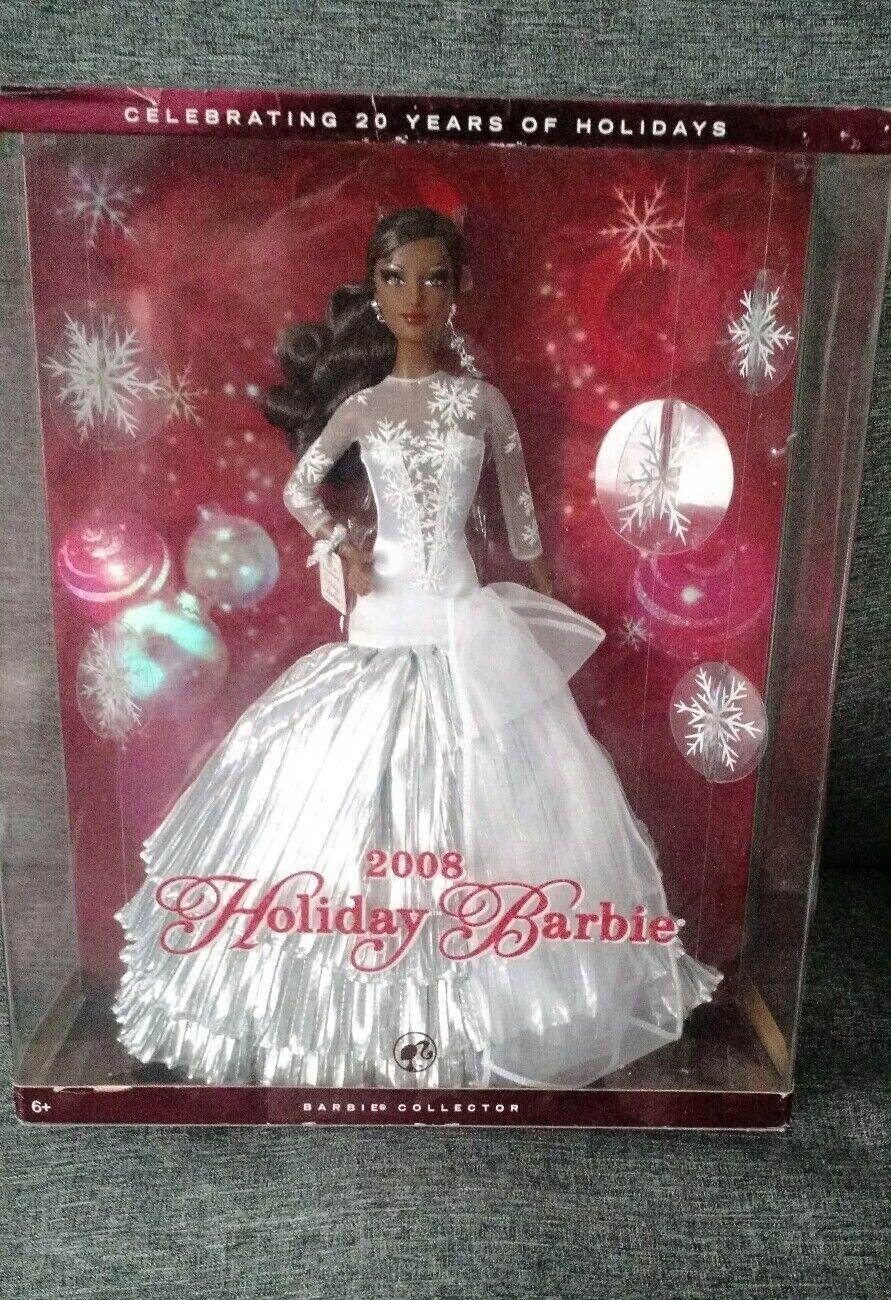 Muñeca Barbie Holiday 2008 African American Nuevo En Caja Caja Caja  n ° 1 en línea