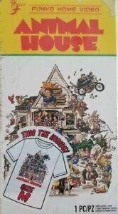 Men/'s Blood Sport Funko Home Video VHS Boxed Short Sleeve Tee Exclusive NIB