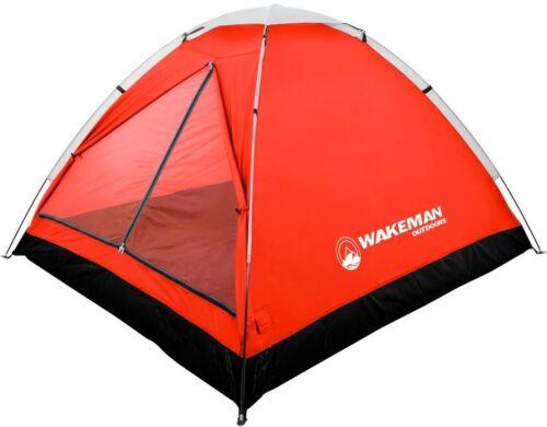 Tente 2 Personne D-Style Porte Résistant à l/'eau avec sac de rangement et tente Stakes