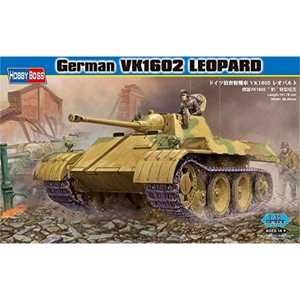 Hobbybo 1 35 - tyska Vk1602leopard - 135 Vk1602 Leopard 82460 Hbb82460