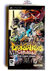 Darkstalkers-Chronicles-PLAYSTATION-Psp-Neuf-Scelle-Retro-Scelle-Nouveau-Spa