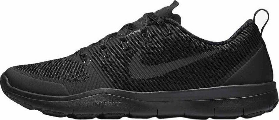 NIKE FREE TRAIN VERSATILITY TRIPLE BLACK TRAINING  833258-005 MENS SZ 12.5