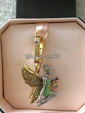 BRAND NEW JUICY COUTURE FAIRY TINKERBELL BRACELET CHARM IN TAGGED BOX
