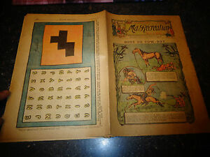 Ancien-Magazine-Hebdo-Jeunesse-02-1913-MA-RECREATION-n-52