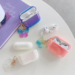 For-AirPods-Pro-1-2-Luxury-Glitter-Cute-Case-Cover-With-Butterfly-Pendant