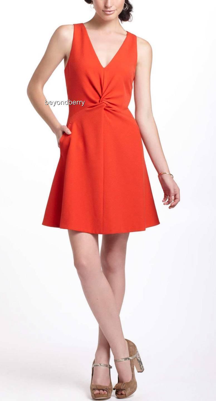 44174bfa1018f Anthropologie Twisted Crepe Mini Dress by Leifsdottir 2 NEW Size ...