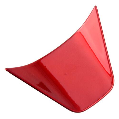 3stk Rot Lenkrad Rahmen Blende Abdeckung Trim Dekor Für Toyota Corolla 2018-2019