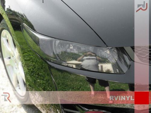 Rtint Headlight Tint Precut Smoked Film Covers for Honda Civic 2006-2011 Coupe