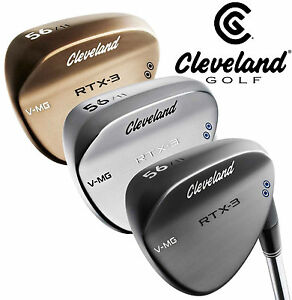 NEW CLEVELAND GOLF RTX-3 WEDGE CHOOSE YOUR LOFT AND FINISH - NEW 2017 - RTX 3
