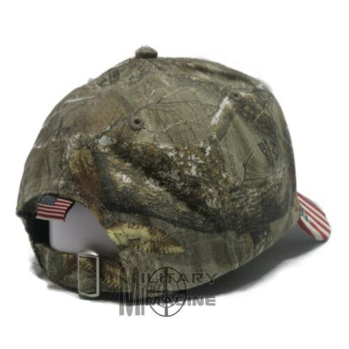 Armed Infidel Cap Camo hat American Flag Real tree xtra
