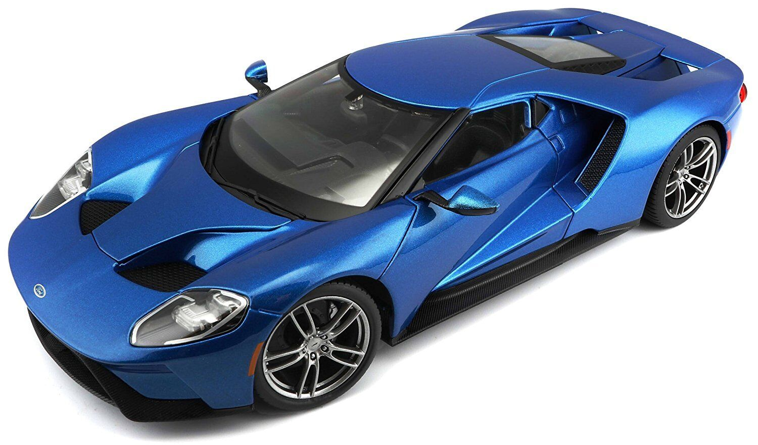 Maisto 1 18 2017 Ford GT Concept Diecast Model Sports Racing Car Vehicle bluee