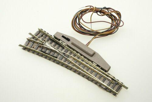 Fleischmann piccolo 9180 elektrische Normalweiche links 111 mm