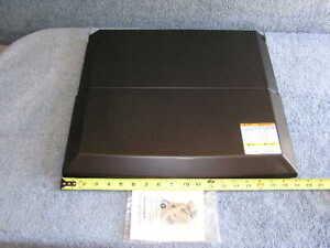 54106-Dometic-Black-Steel-Bi-Fold-Stove-Top-Cover-fits-17-034-amp-21-034-RV-CV-Series
