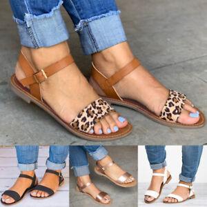 Women Low Heel Open Toe Sandals Party