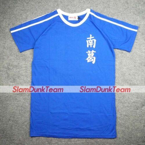 CAPTAIN TSUBASA Cosplay Nankatsu School Football #11 Taro Soccer Jersey Tee BLUE