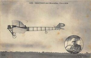 CPA-AVIATION-CHATEAU-SUR-MONOPLAN-TELLIER