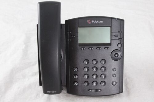 Lot of 25 Polycom VVX 310 IP Business Media PoE Phones With Handsets and Stands