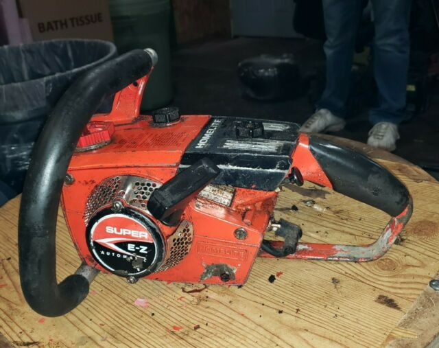 Homelite EZ Auto chainsaw cylinder jug